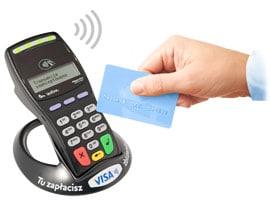 Terminale płatnicze zbliżeniowe